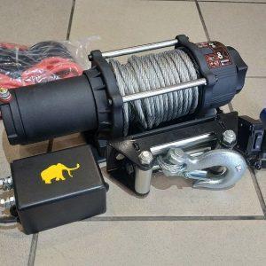 Vitlo Mamut 5500, 12V, 2.495kg sa sajlom, vodilicom, žičnim i bežičnim daljinskim 4
