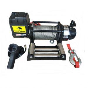 Vitlo Mamut EWX9500U, 12V, 4.309kg sa sajlom, vodilicom i žičnim daljinskim 2