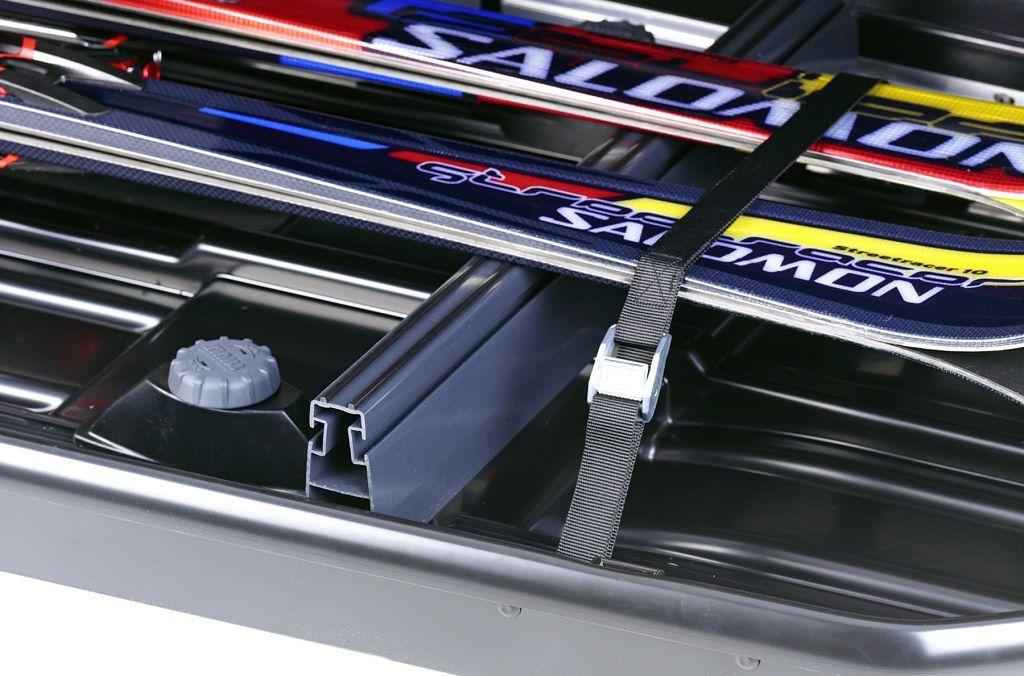 Thule Box Ski Carrier Adapter 694-5 adapter za prijevoz skija u krovnoj kutiji veličine 500 i Force Sport