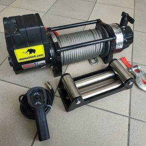 Vitlo Mamut EWX9500U, 12V, 4.309kg sa sajlom, vodilicom i žičnim daljinskim 5
