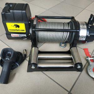 Vitlo Mamut EWX9500U, 12V, 4.309kg sa sajlom, vodilicom i žičnim daljinskim 6