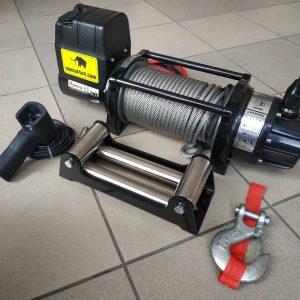 Vitlo Mamut EWX9500U, 12V, 4.309kg sa sajlom, vodilicom i žičnim daljinskim 3