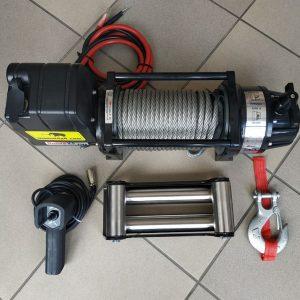 Vitlo Mamut EWX9500U, 12V, 4.309kg sa sajlom, vodilicom i žičnim daljinskim 4