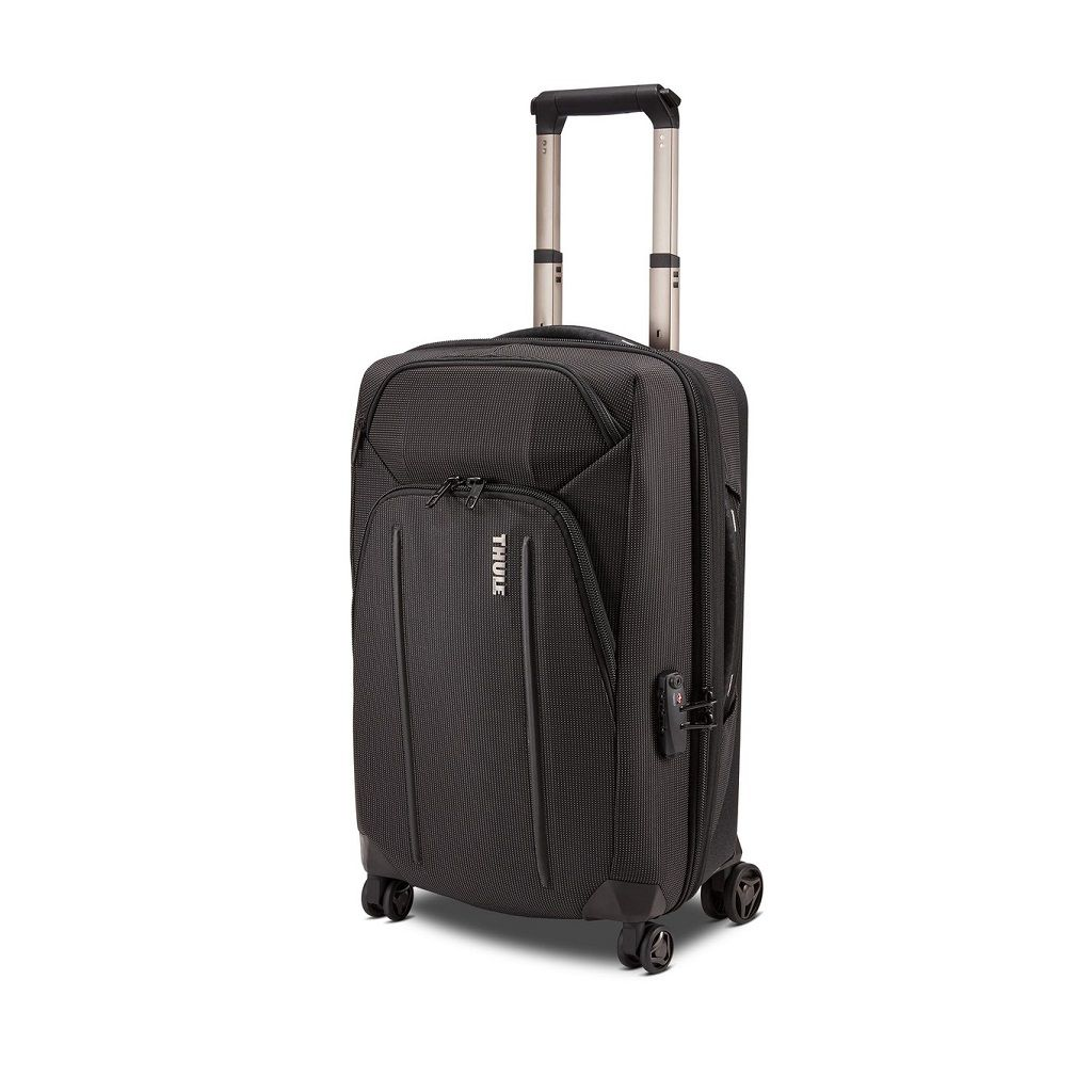 Putna torba Thule Crossover 2 Carry On Spinner 35L crna