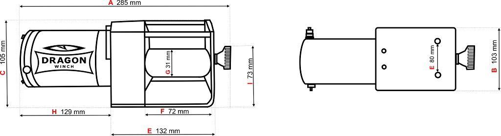Vitlo Dragon Maverick DWM 2500 ST, 12V, 1.133kg sa sajlom, vodilicom, žičnim i bežičnim daljinskim 10