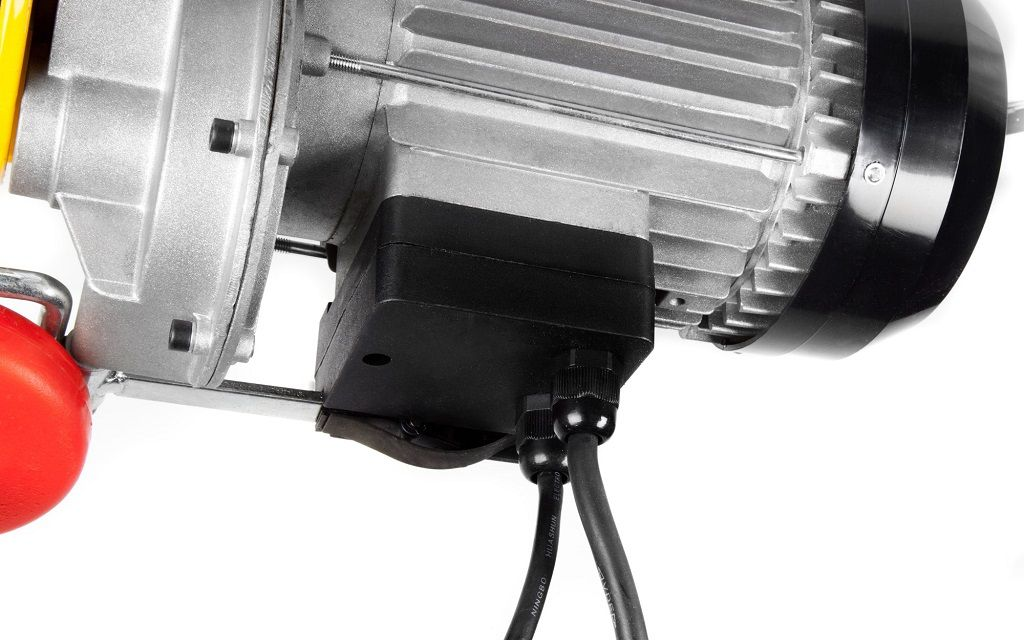 Dragon dizalica vitlo - industrijsko vitlo DWI 400/800 kg, 230 V, čelična sajla 12m/6m