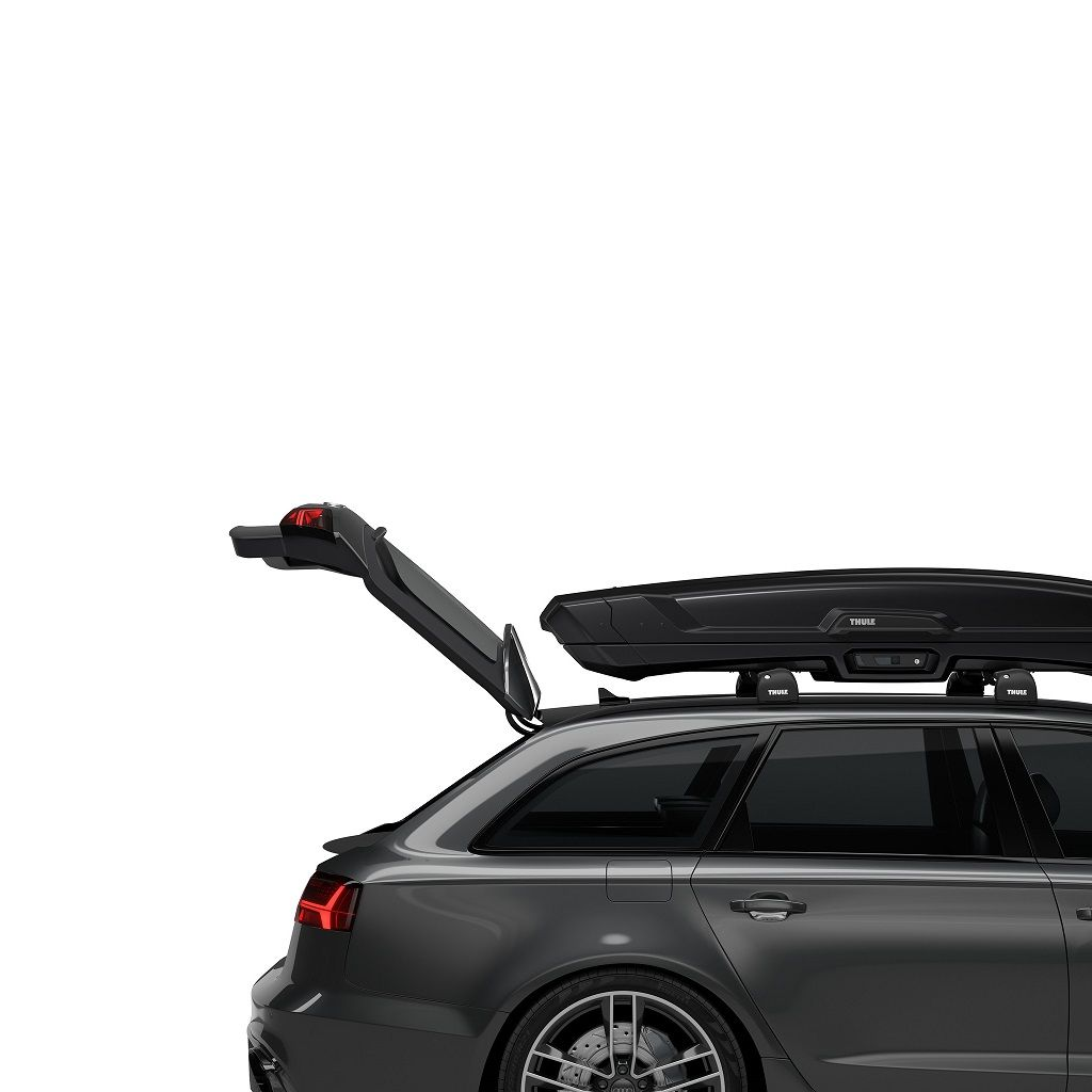 Thule Vector Alpine (500) crna sjajna krovna kutija + Gratis ruksak Thule Stir 15L