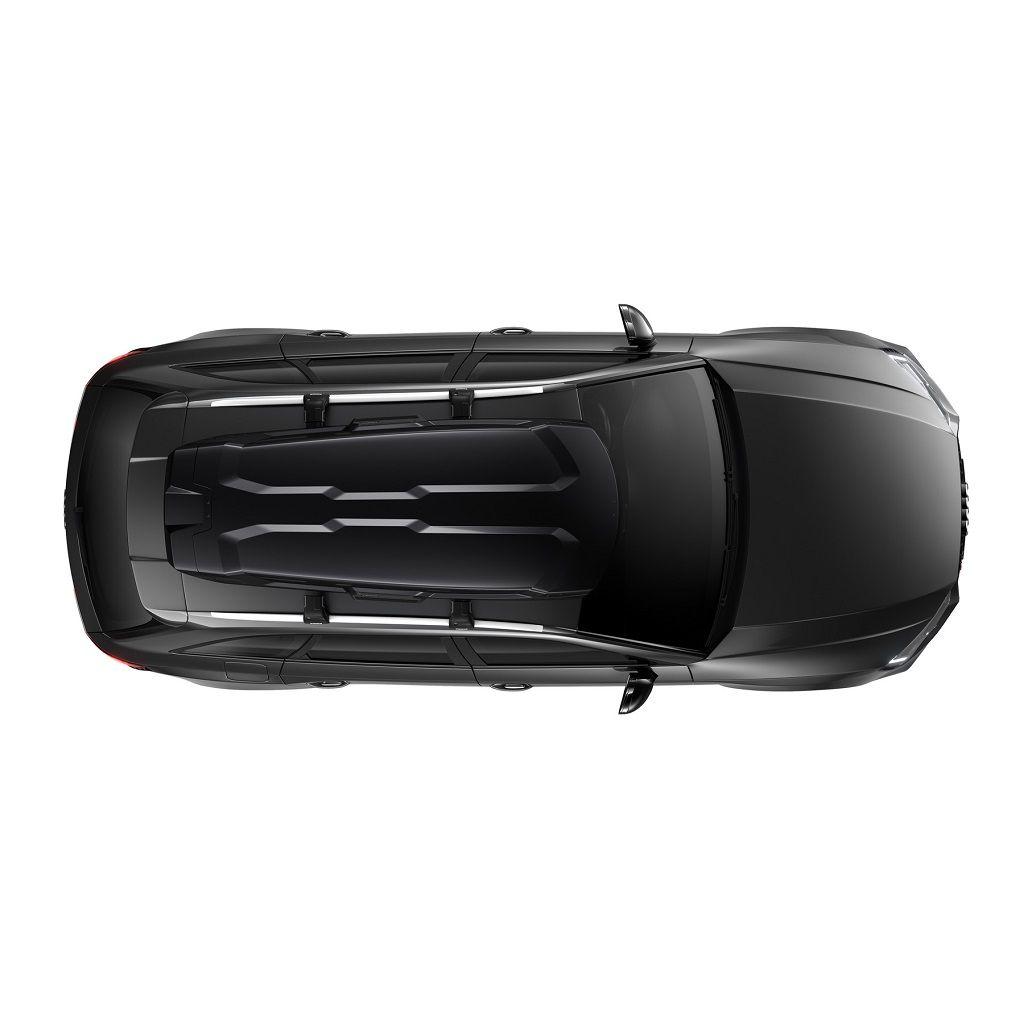 Thule Vector M (200) crna sjajna krovna kutija + Gratis ruksak Thule Stir 15L