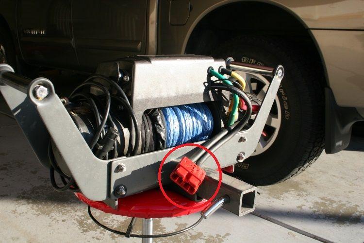 Dragon brzi konektor/utikač za struju za vitlo do 4500lb (150A) (prijenosno/multimount) mali (par)