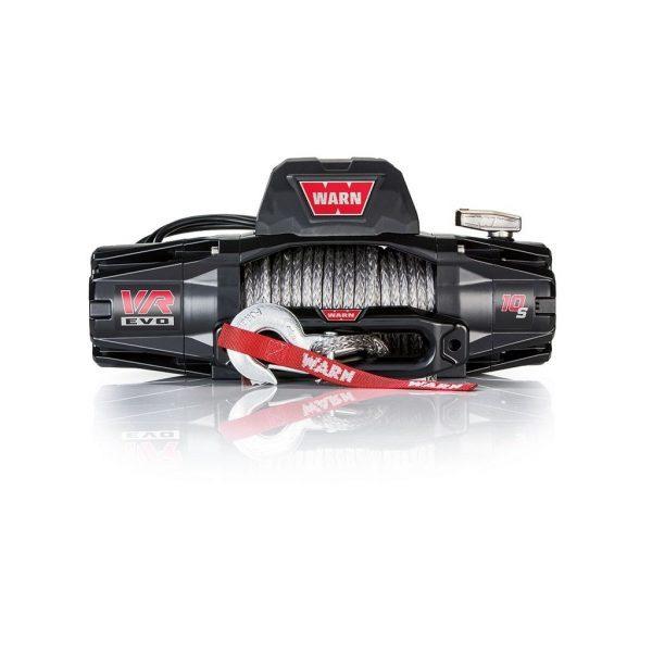 Premium vitlo Warn VR EVO 10-S, 12V, 4.530kg sa sintetskim užetom, vodilicom i žičnim i bežičnim daljinskim 1