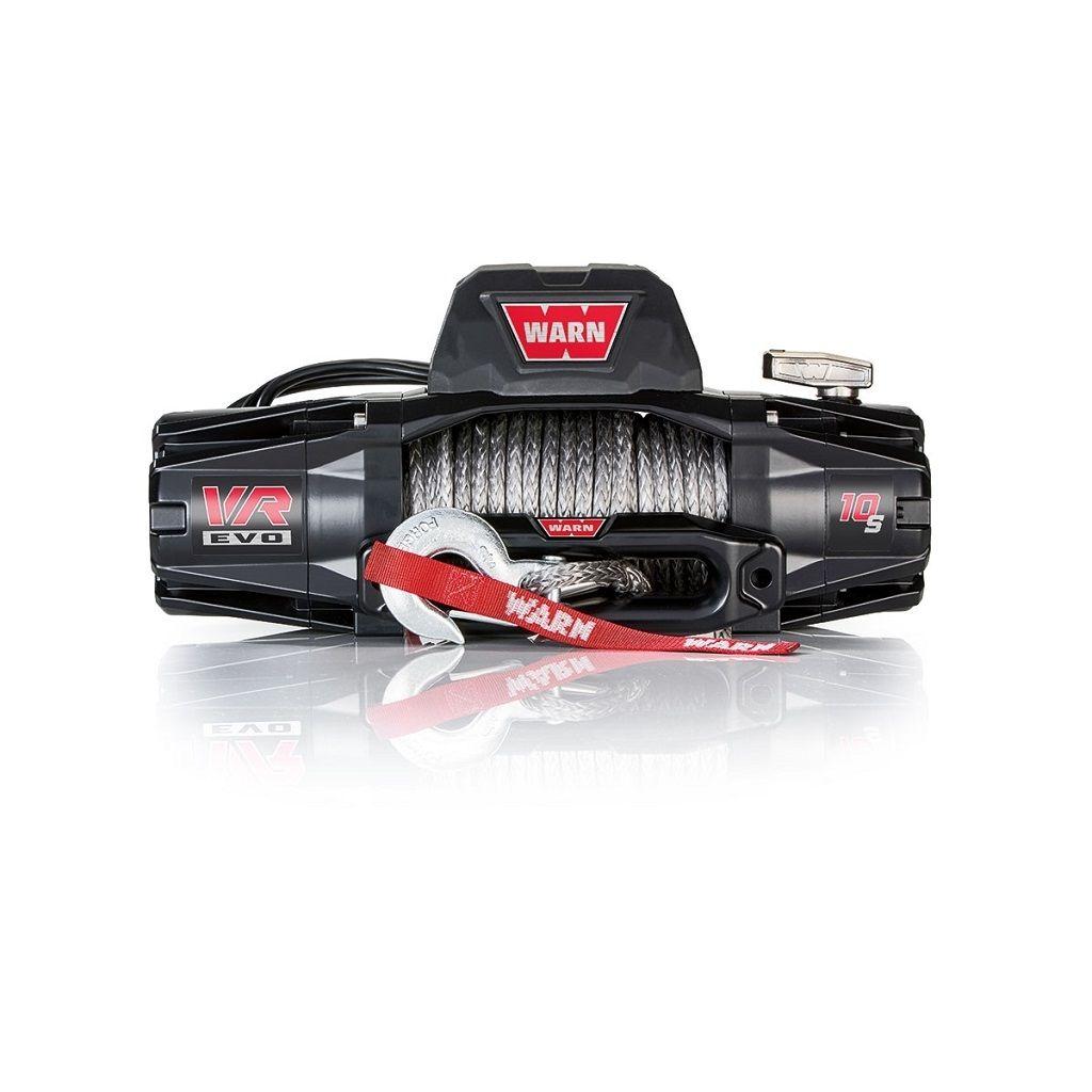 Premium vitlo Warn VR EVO 10-S, 12V, 4.530kg sa sintetskim užetom, vodilicom i žičnim i bežičnim daljinskim