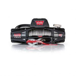 Premium vitlo Warn VR EVO 12-S, 12V, 5.443kg sa sintetskim užetom, vodilicom i žičnim i bežičnim daljinskim 2