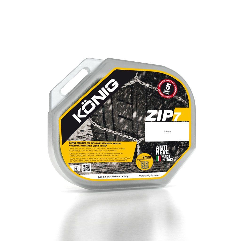 Lanci za snijeg König Zip 7 7mm Grupa 104 (par)