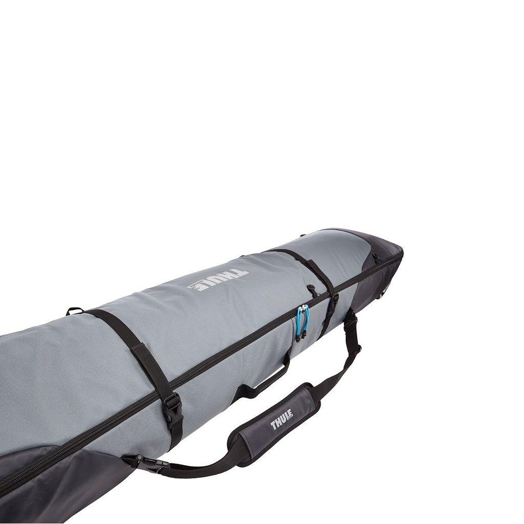 Torba za skije s kotačima Thule RoundTrip Ski Roller 190cm crno/siva