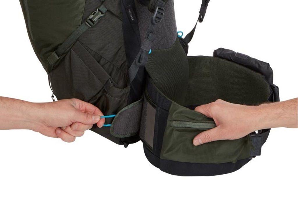 Thule Versant 70L muški planinarski ruksak tamnozeleni