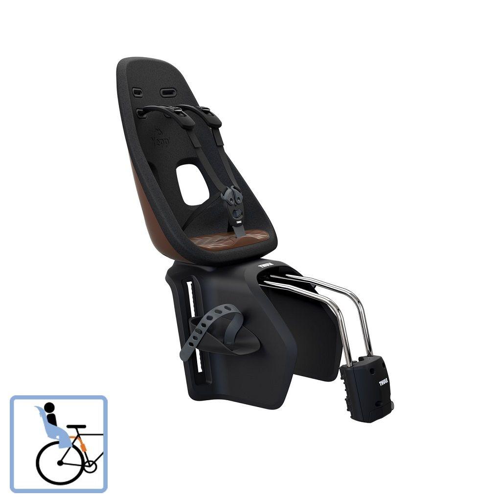 Dječja sjedalica stražnja na ramu Thule Yepp Nexxt Maxi Frame Mounted smeđa