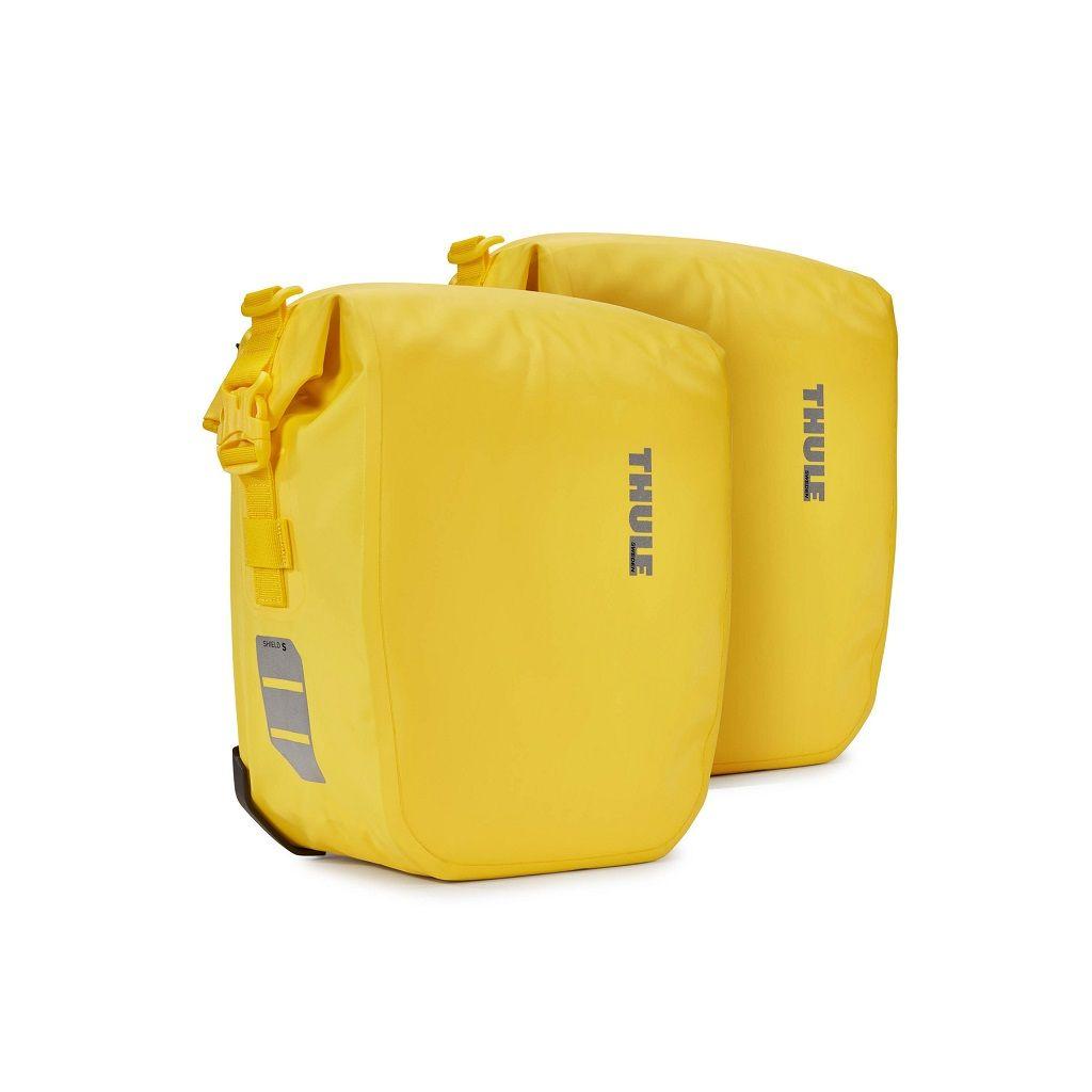 Thule Shield Pannier 13 L (par) bisage za bicikl žute