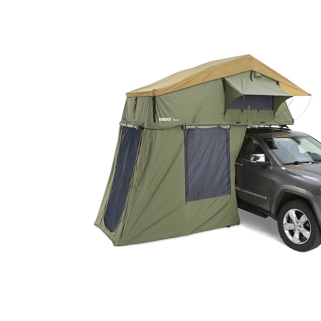 Thule Tepui Explorer Autana 3 krovni šator zeleni za tri osobe s dodatnim predprostorom