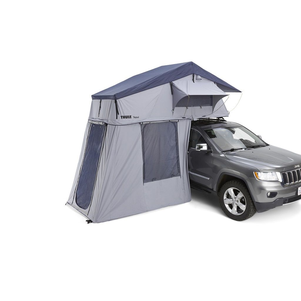 Thule Tepui Explorer Autana 4 krovni šator sivi za četiri osobe s dodatnim predprostorom