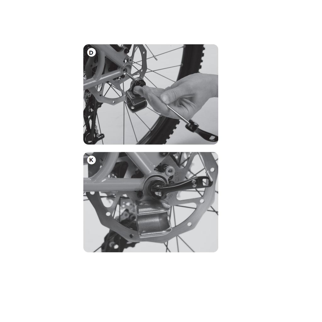 Thule Axle Mount ezHitch™ Cup with Quick Release Skewer dodatan adapter s osovinom za pričvršćivanje prikolice za bicikl