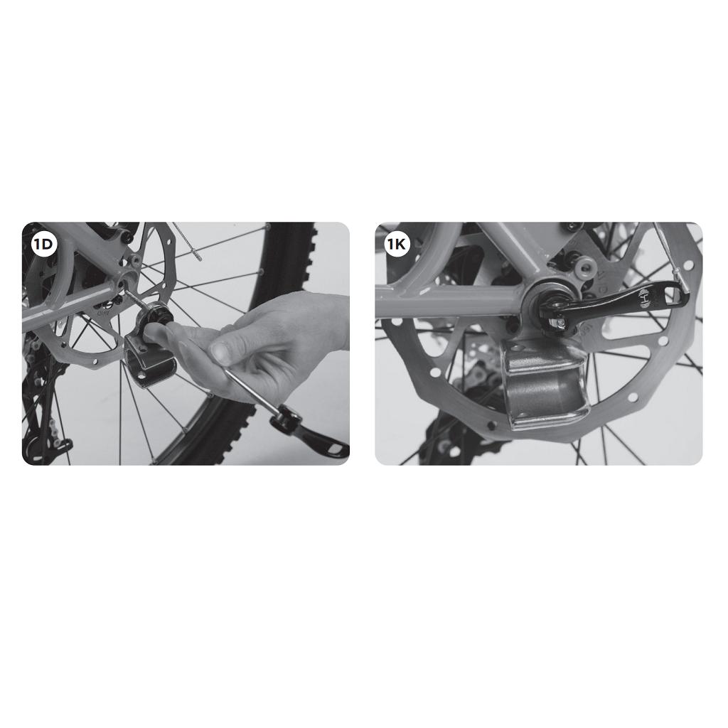 Thule Axle Mount ezHitch™ Cup dodatan adapter za pričvršćivanje prikolice za bicikl