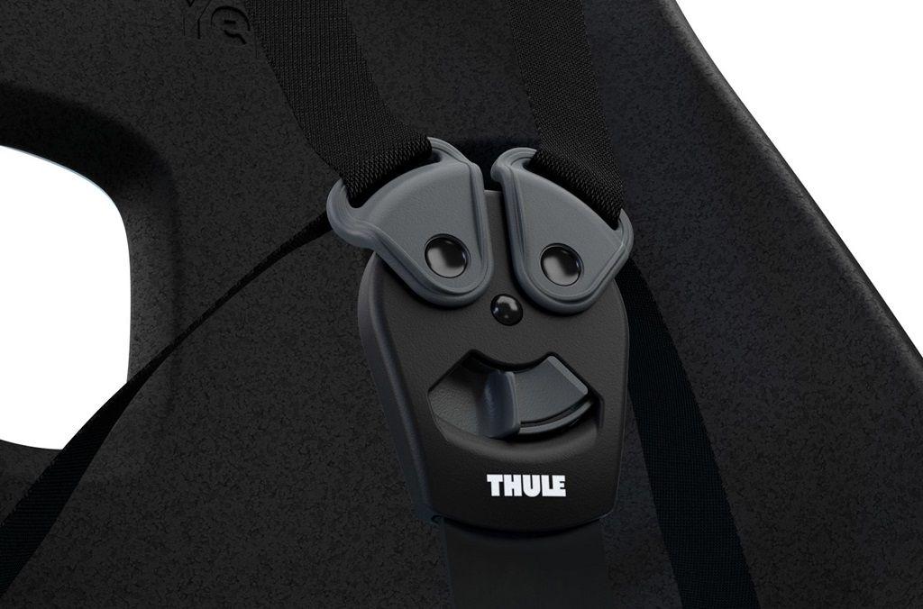 Dječja sjedalica prednja za upravljač Thule Yepp Nexxt Mini crna