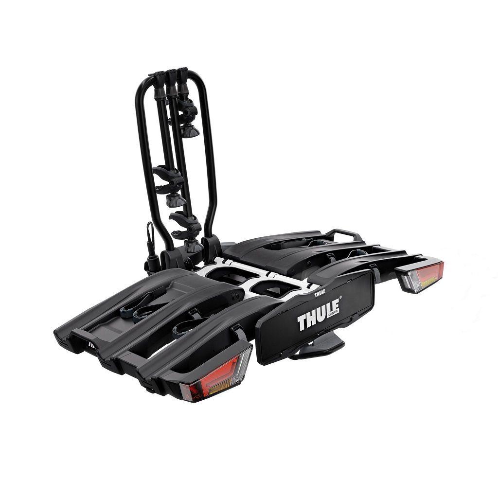 Thule EasyFold XT 3, 934B nosač bicikla na kuku crni za 3 bicikla s torbom
