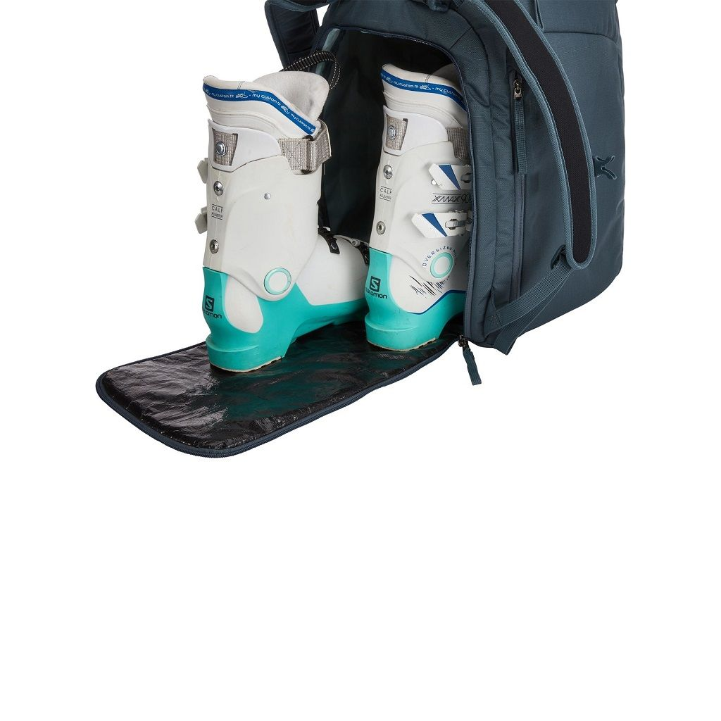 Thule RoundTrip Boot Backpack 45L torba za pancerice tirkizni