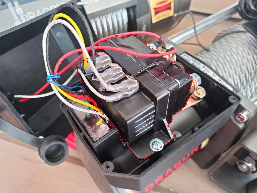 Bežični daljinski XL za vitlo Dragon 4 žice