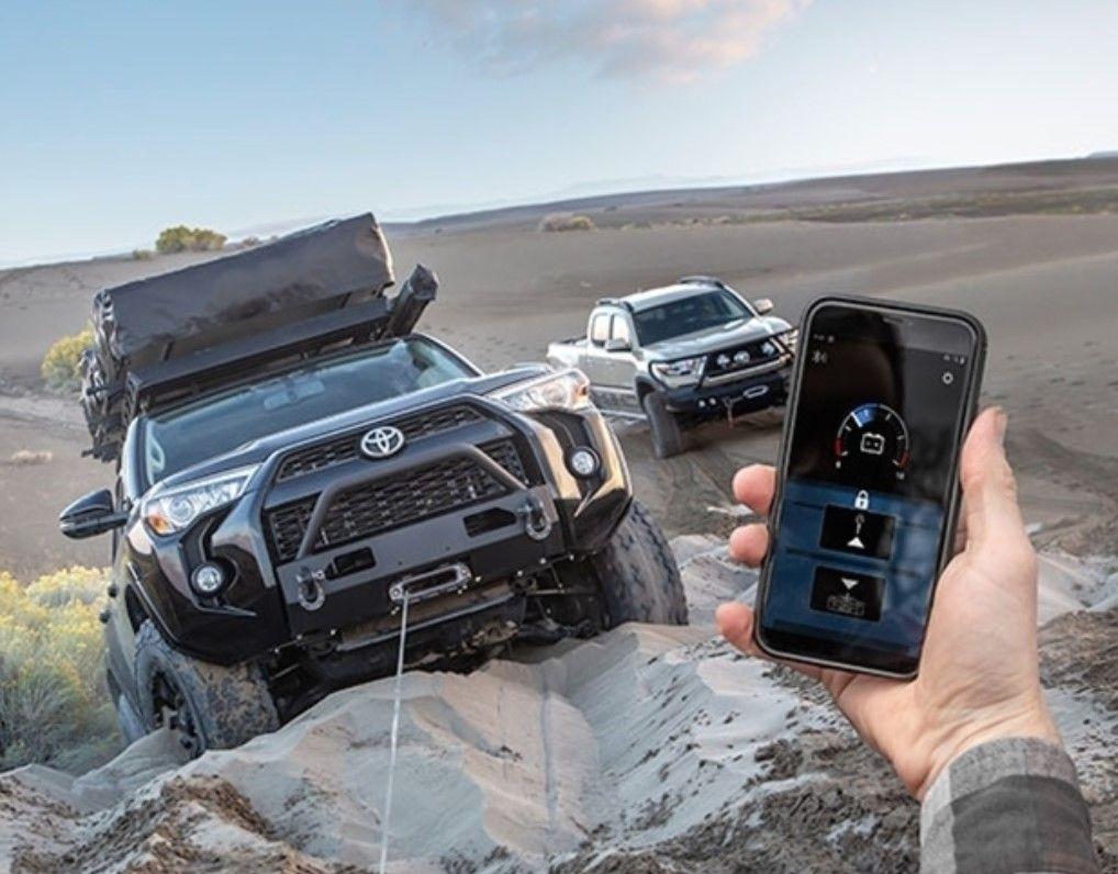 Warn prijemnik za bežično upravljanje Warn vitlom (Bluetooth) uz pomoć smartphone aplikacije (Android i iOS)
