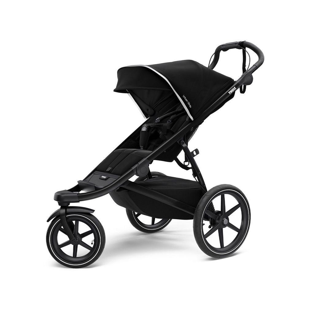 Thule Urban Glide 2 crna dječja kolica za jedno dijete